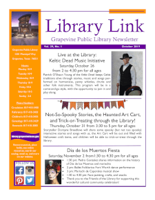 October 2019 Library Link Newsletter